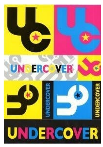 Undercover A4 Sticker Pack