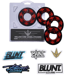 Blunt Envy 110mm Replacement Wheel Graphics - Spin