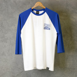 Penny 3 Quarter Shirt White Blue