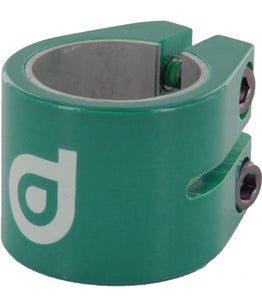 District Double Collar Clamp V2 - Turquoise
