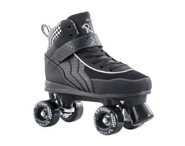 Rio Roller Mayhem Jnr Quad Skates - Black/White