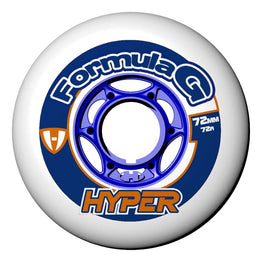 Hyper Formula G Era Wheels - White 72a