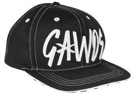 Gawds Snapback Hat Black