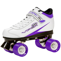 Roller Derby Viper M4 White Speed Quad Skates
