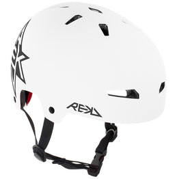 Rekd Elite Icon Helmet - White / Black