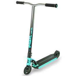 Madd MGP VX8 Team Stunt Scooter - Turquoise W/Chrome Bars