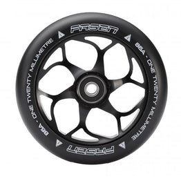 Fasen 120mm Alloy Core Scooter Wheel - Black Black