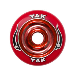 Yak Scat Red Metal Core 100mm  Scooter Wheel