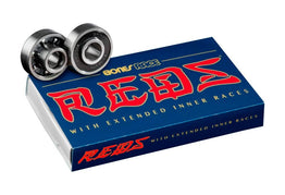 Bones Bearings Race Reds pack of 8