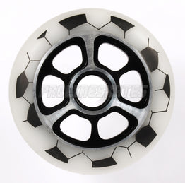Yak FA Metal Core 100mm Scooter Wheel - White (Ex Display)