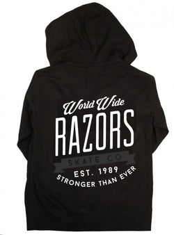 Razors Worldwide Zip Hoody - Black
