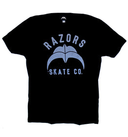 Razors Skate Co. 2 T Shirt Black