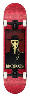 Birdhouse Stage 3 Complete Skateboard - Plague Doctor - Red