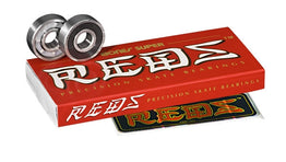Bones Super Reds Bearings - Pack of 8