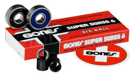 Bones Super Swiss 6 Bearings - Pack of 8