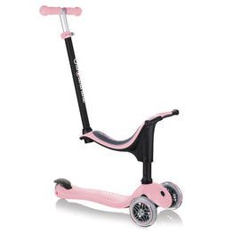Globber GO UP Sporty Kids Scooter - Pastel Pink