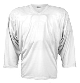 Plain Training Jersey - White