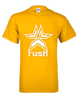 Rush Logo T-Shirt - Yellow