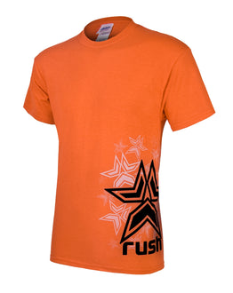 Rush Stars T-Shirt - Orange
