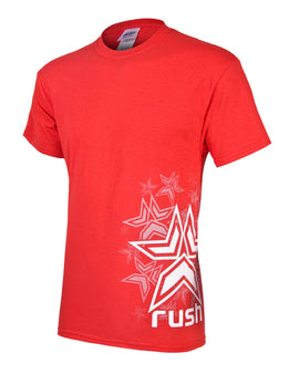 Rush Stars T-Shirt - Red