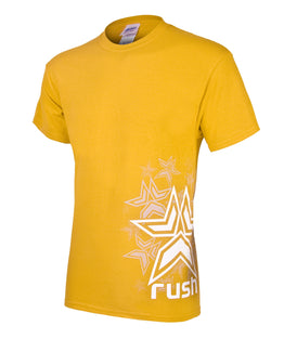 Rush Stars T-Shirt - Yellow