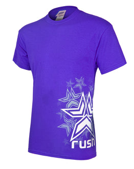 Rush Stars T-Shirt - Purple