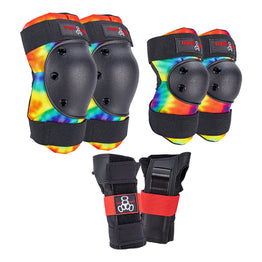 Triple 8 Saver Series Junior Protective Pack - Tie Dye