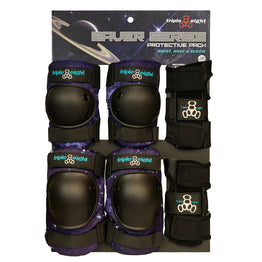 Triple 8 Saver Series Junior Protective Pack - Galaxy