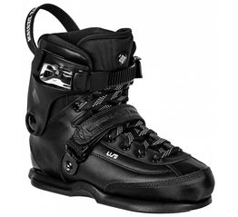USD Carbon XXI Aggressive Inline Skates Boot Only - Black
