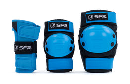 SFR Youth Ramp Triple Pad Set - Blue