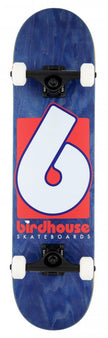 Birdhouse Stage 3 - B Logo - Complete Skateboard - Navy / Red