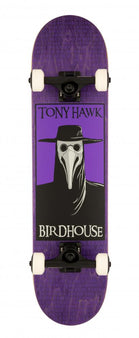 Birdhouse Stage 3 Complete Skateboard - Plague Doctor - Purple