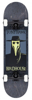 Birdhouse Stage 3 Complete Skateboard - Plague Doctor - Black 8""