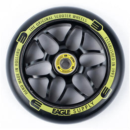 Eagle Supply Standard X6 Core 120mm Scooter Wheel - Black/Black