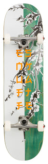 "Enuff Cherry Blossom Complete Skateboard 32""x8"" - White/Teal"