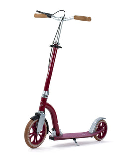 Frenzy 230 Dual Brake Recreational Scooter - Burgundy / Gum