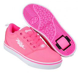 Heelys Pro 20 Shoes - Neon Pink/White