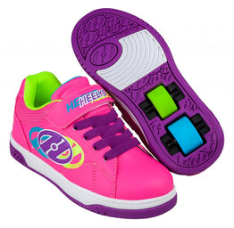 Heelys Swerve X2 Shoes - Hot Pink/Multi
