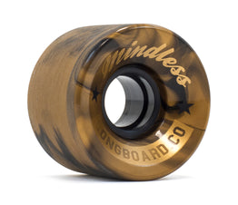 Mindless Cruiser Longboard Wheels 60mm - Swirl Bronze