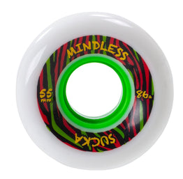 Mindless Sucka Skateboard Wheels 55mm - White
