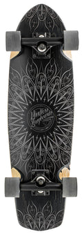 Mindless Mandala Cruiser Skateboard - Black