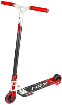 "MGP MGX E1 Extreme 5.0""  Stunt Scooter - Silver / Red"