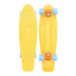 "Penny 27"" High Vibe Cruiser Skateboard - Yellow / Blue"