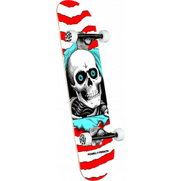 Powell Peralta Ripper One Off Red Birch Complete Skateboard 8""