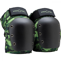 Pro-Tec Street Knee & Elbow Pad Set - Camo Green