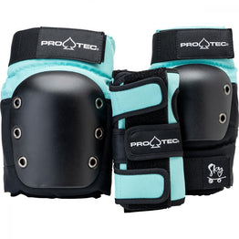 Pro-Tec Street Gear Junior 3 Pack Pad Set - Sky Brown