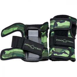 Pro-Tec Street Wrist Guards - Camo Green