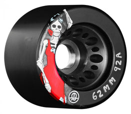 Rollerbones Day of The Dead Quad Wheels (Pack of 4) 62mm