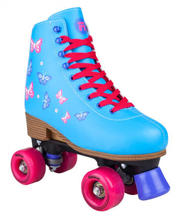 Rookie Blossom Junior Adjustable Roller Skates - Blue
