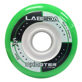 Labeda Shooter 83A All Purpose Green / White Wheel (Pack of 2)